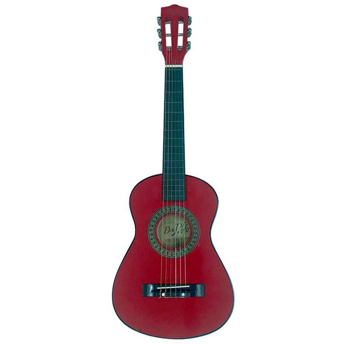 "Don Pablo Classic Guitar 30"" Kids Red"