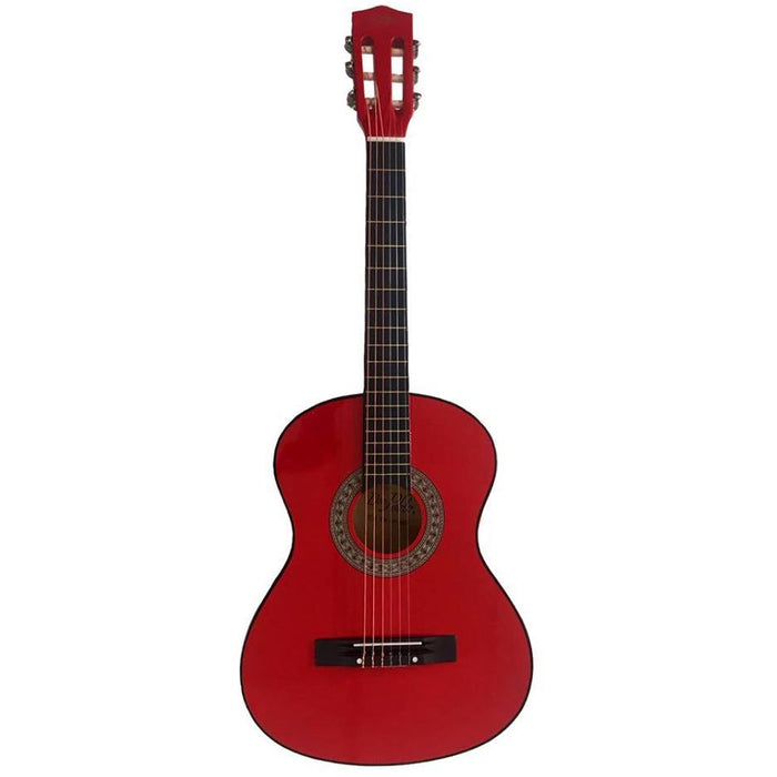"Don Pablo Classic Guitar 36"" Junior Red"