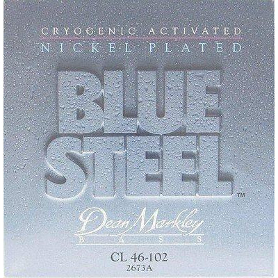 Dean Markley Blue Steel 2673A Bass Guitar Strings, NPS, Light, 4-String, 46-102
