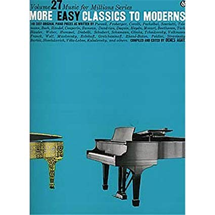 More Easy Classics To Moderns. Partitions Four Piano Vol. 27