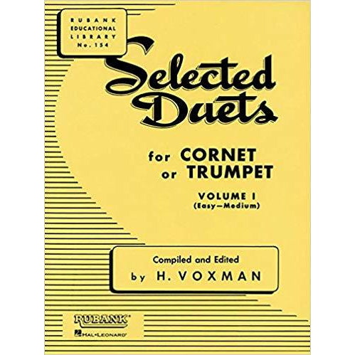 Selected Duets for Cornet or Trumpet, Vol. 1: Easy to Medium