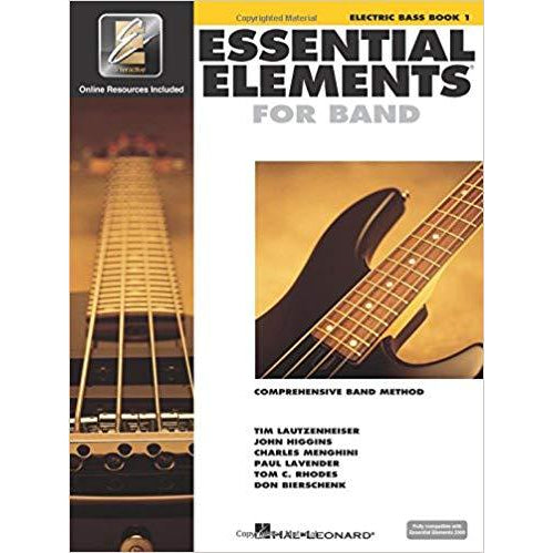 Essential Elements for Band - Electric Bass Book 1