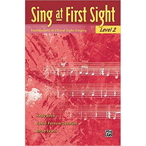 Sing at First Sight, Bk 2: Foundations in Choral Sight-Singing