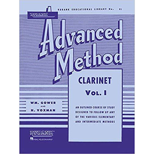 Rubank Advanced Method: Clarinet, Vol. 1