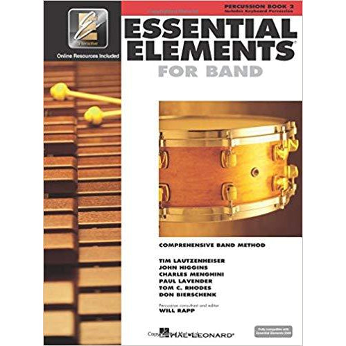 Essential Elements for Band Percussion, Book 2: Percussion/Keyboard Percussion