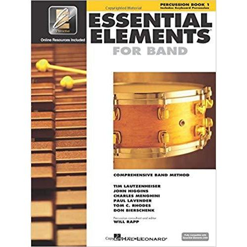 Essential Elements for Band Percussion Book 1 (Percussion/Keyboard Percussion)