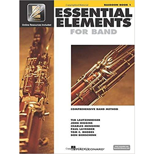 Essential Elements 2000: Bassoon Book 1