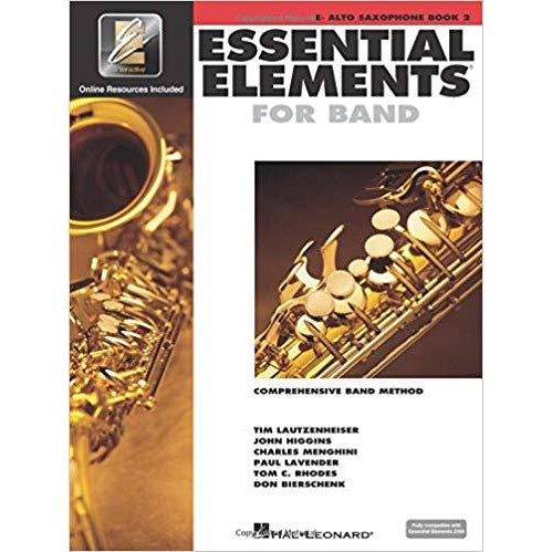 Essential Elements For Band Eb Alto Saxophone, Book 2