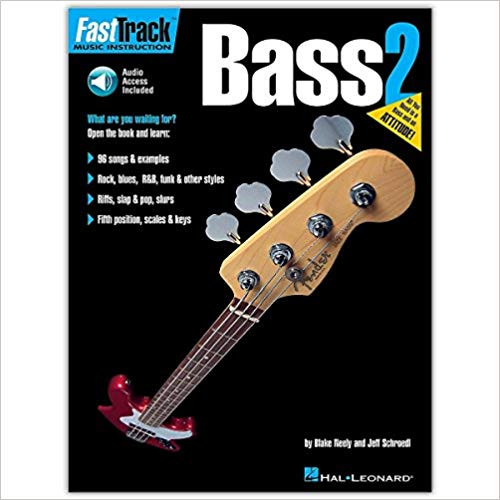 FastTrack Bass Method - Book 2 (FastTrack Music Instruction)