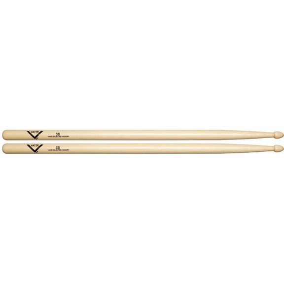 VATER American Hickory 5B Drum Sticks Wood