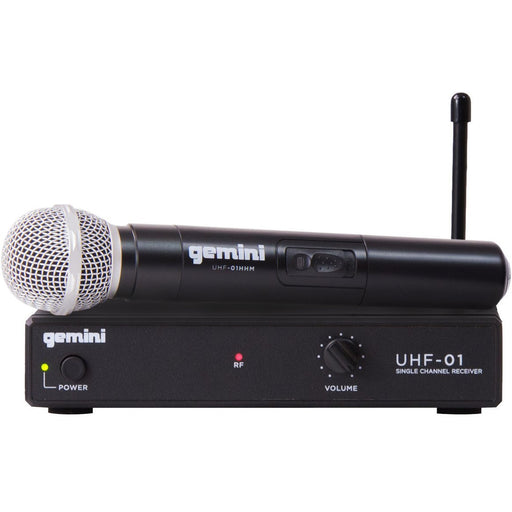 Gemini UHF-01M Wireless Microphone System