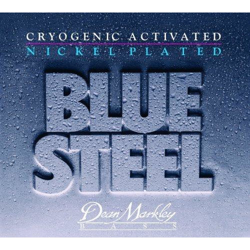 Dean Markley Blue Steel 2672A NPS Bass Guitar Strings, Extra Light, 4-String, 45-100