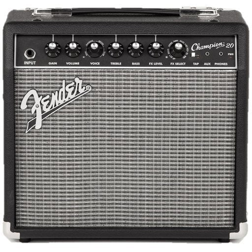 Fender Champion 20 - 20-Watt Electric Guitar Amplifier