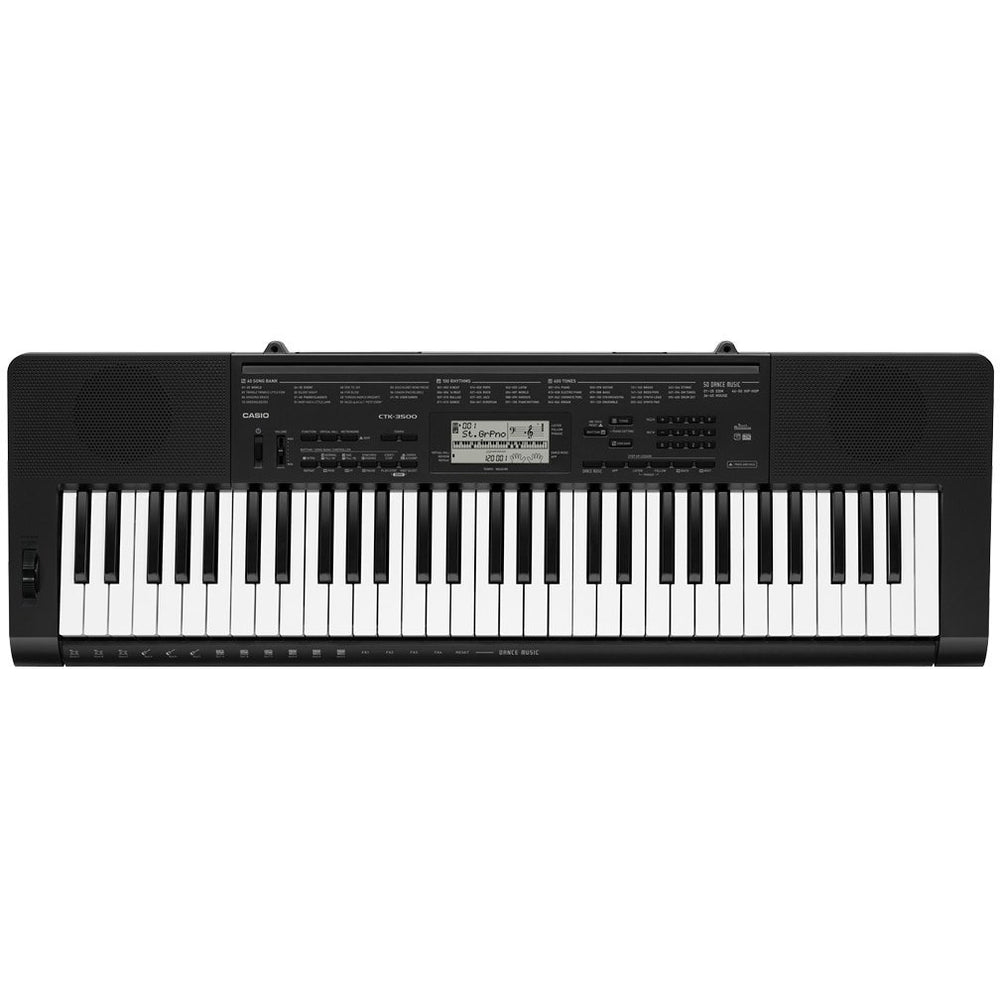 Casio Keyboard CTK-3500 61-Key Touch Sensitive