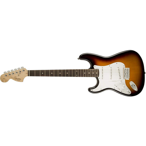 Squier by Fender Affinity Stratocaster Left Handed - Rosewood Fingerboard, Brown Sunburst