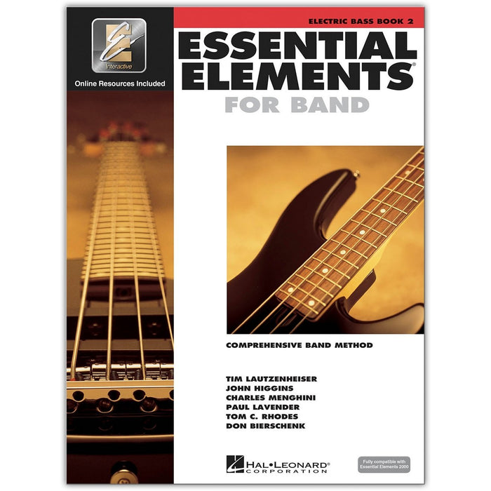 Hal Leonard Essential Elements for Band - Electric Bass Book 2