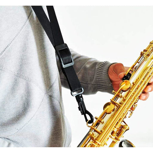 Strap for Saxophone Neck Strap with Swivel Snap, Black