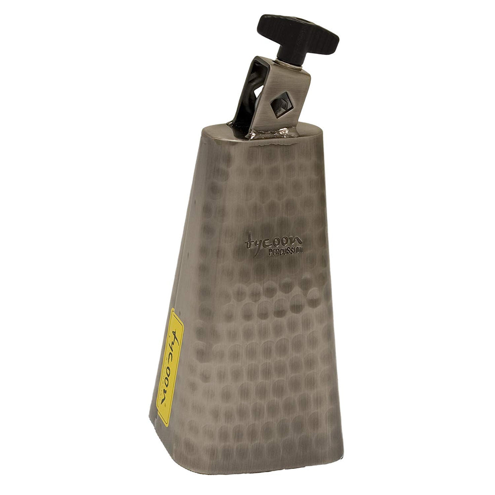 "Tycoon 6"" Hand-Hammered Cowbell"