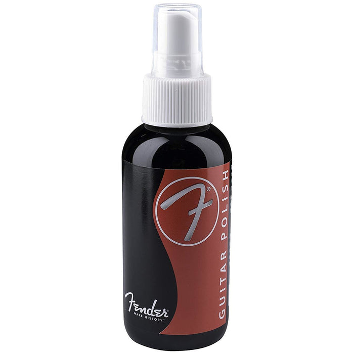 Fender guitar polish, 4oz pump spray bottle