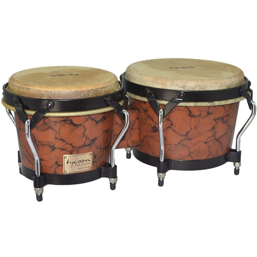 Tycoon Percussion  Supremo Series Bongos Marble