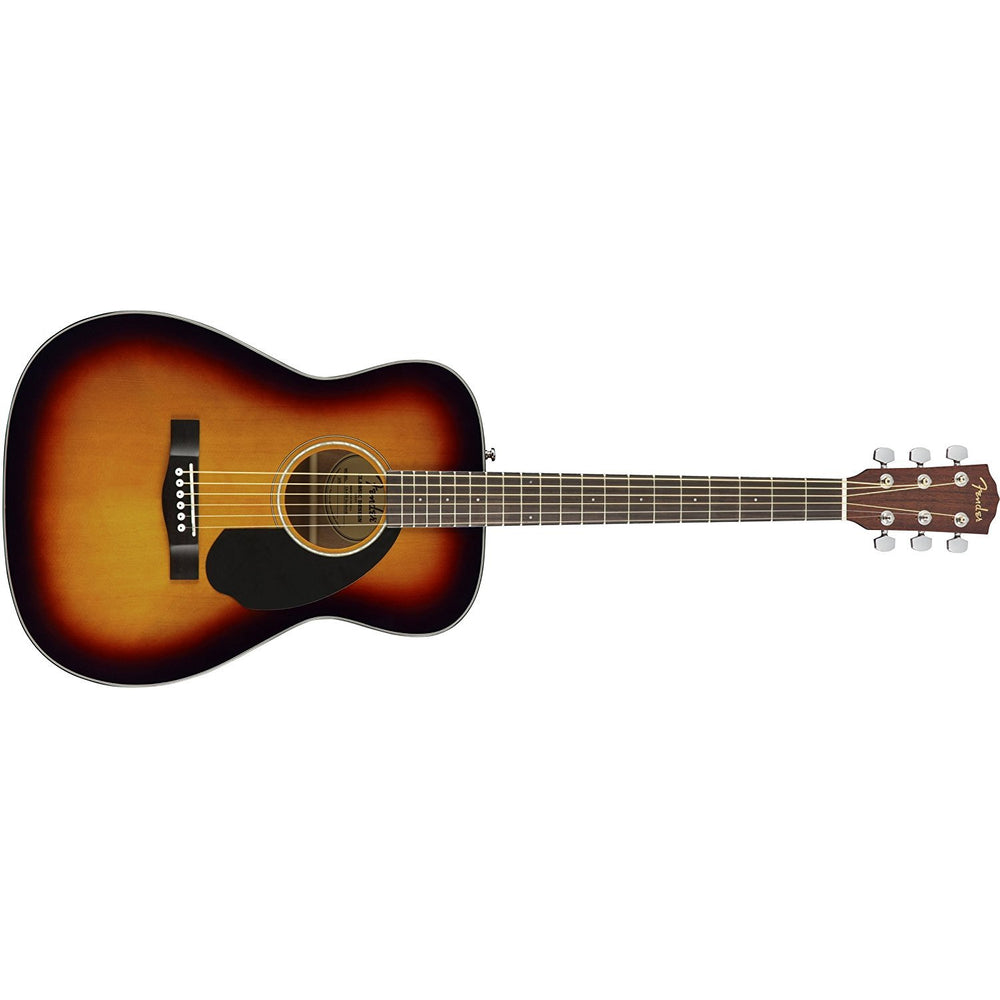 Fender CC-60s Right Handed Handed Acoustic Guitar - Concert Body Style - Sunburst