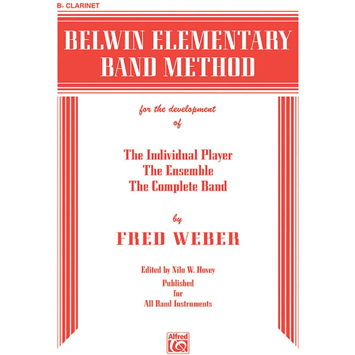 Belwin Elementary Band Method: B-flat Clarinet