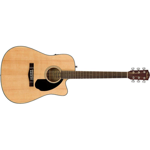 Fender CD-60SCE Acoustic-Electric Guitar - Dreadnaught Body Style - Natural Finish
