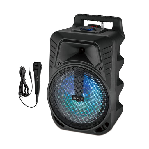 "STUDIO Z STZP-1000 ACTIVE SPEAKER RECHARGEABLE 10"" W/MICROPHONE"