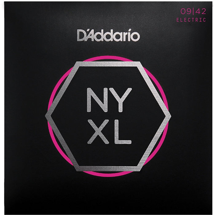 D'Addario NYXL 09-42 Nickel Plated Electric Guitar Strings