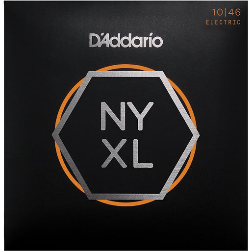 D'Addario NYXL10-46 Nickel Plated Electric Guitar Strings, Light