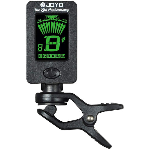 JOYO JT-01 Clip-On Tuner for Ukulele, Guitar, Bass, Mandolin, Violin, Banjo