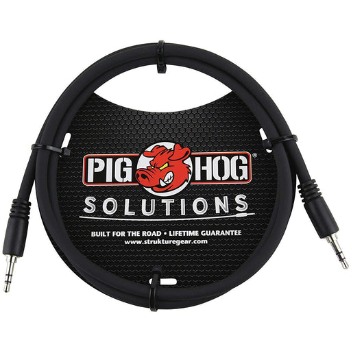 Pig Hog PX-T3503 1/8 inch TRS Cable, 3 ft