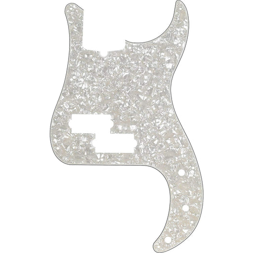 Fender Modern Pickguard, Precision Bass, 13-Hole - White Moto