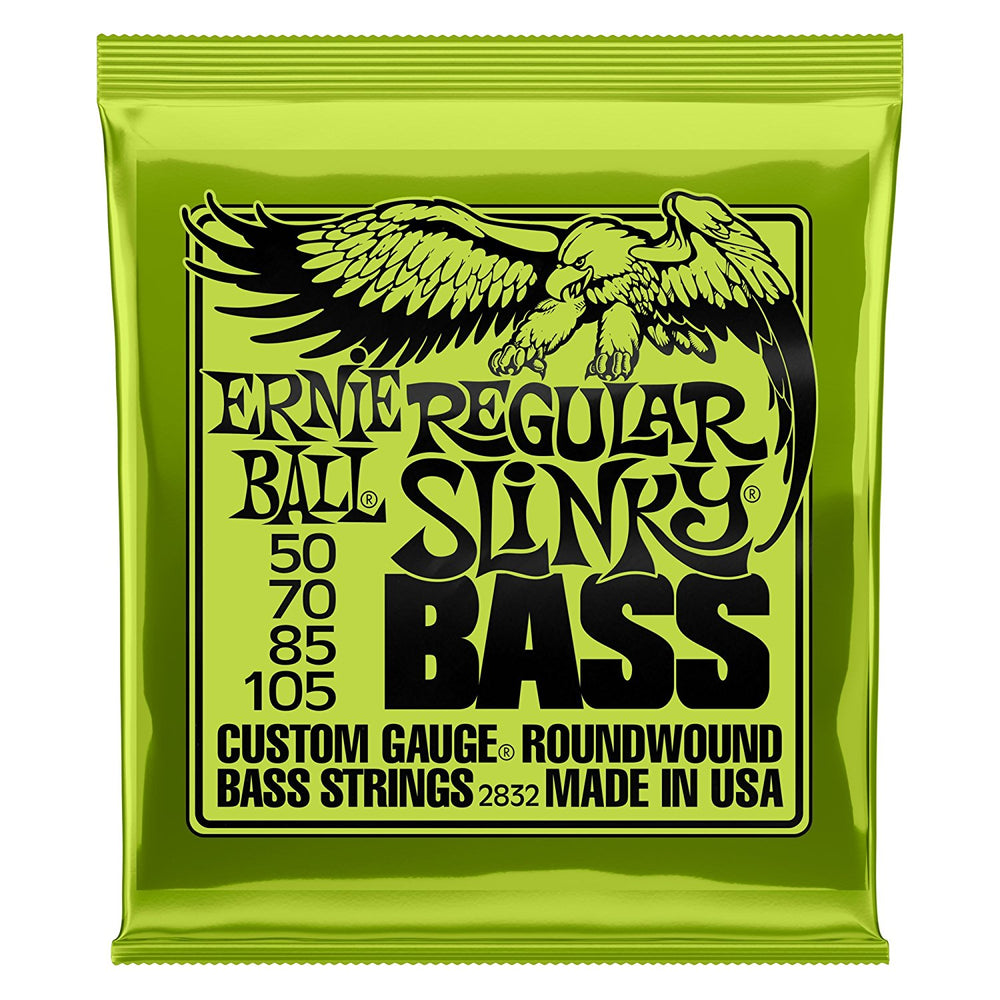 Ernie Ball Regular Slinky Nickel Wound Bass Set.050 - .105