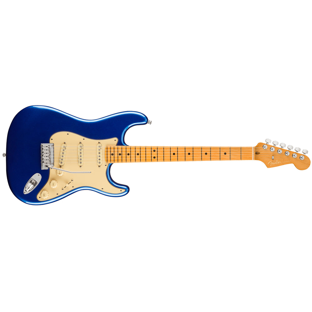 Fender American Ultra Stratocaster - Cobra Blue with Maple Fingerboard