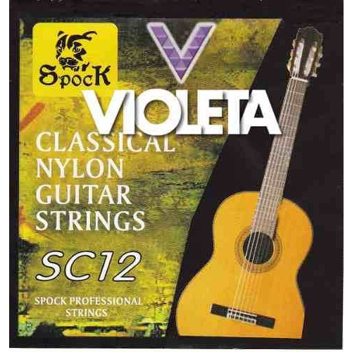 Spock Nylon Classical Guitar Strings