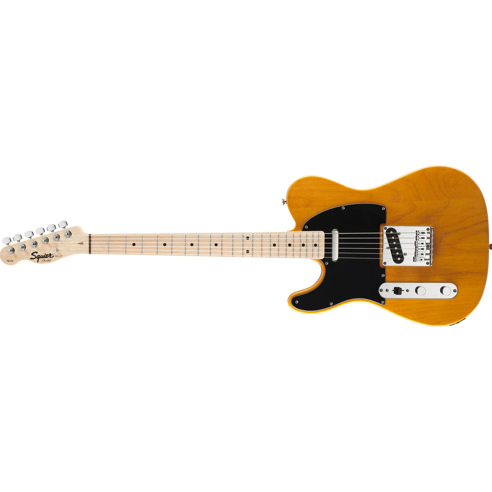 Squier Affinity Series Telecaster, Left-Handed - Butterscotch Blonde with Maple Fingerboard