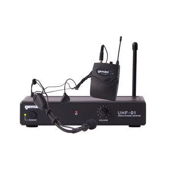 GEMINI UHF-01HL WIRELESS MICROPHONE SYSTEM