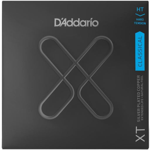 D'Addario XTC46 XT Classical Silver Plated Copper Classical Guitar Strings Hard Tension