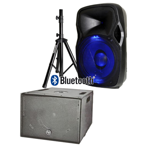 "AUDIOPIPE 15"" SPEAKER & SUBWOOFER COMBO (AVAILABLE FOR PICKUP AT STORE)"