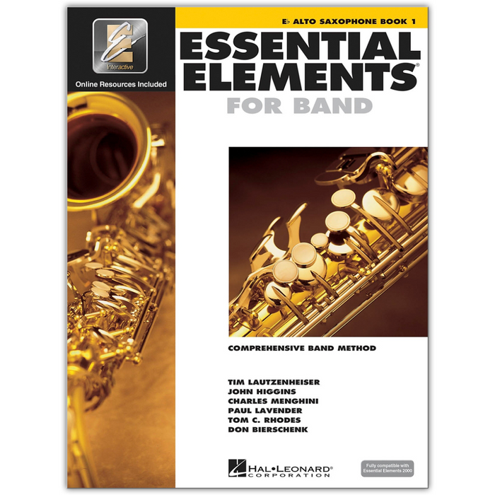 Essential Elements For Band Eb Alto Saxophone, Book 1