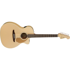 Fender California Newporter Player Acoustic-Electric Guitar Champagne