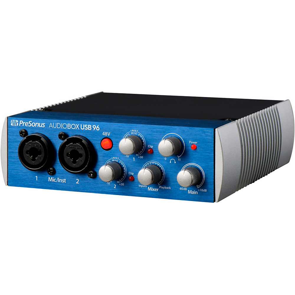 PreSonus AudioBox USB 96 2x2 USB Recording System