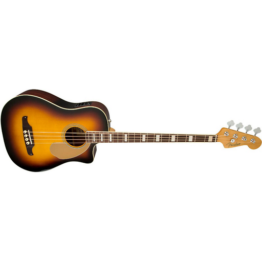 Fender California Series Kingman SCE Cutaway Acoustic-Electric Bass 3-Color Sunburst