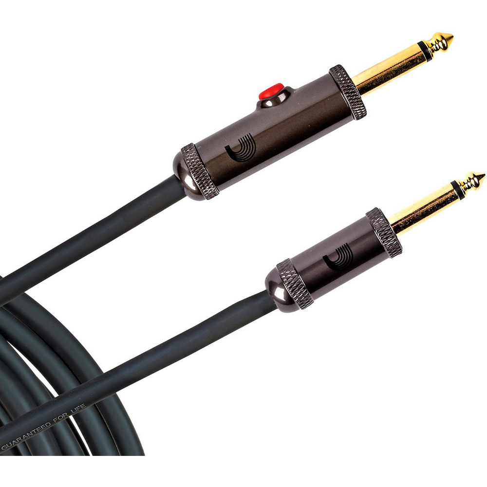 D'Addario Circuit Breaker Instrument Cable 15ft