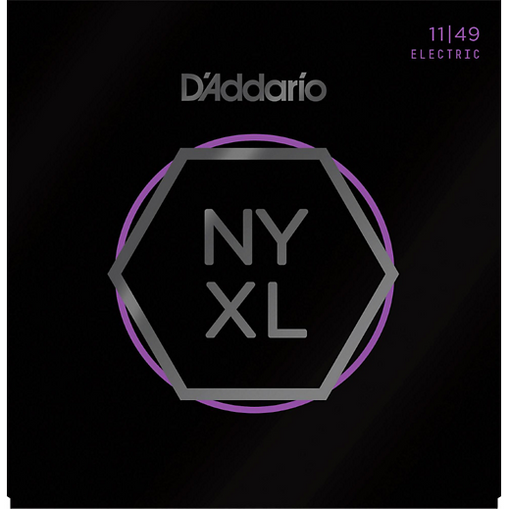 D'Addario NYXL 11-49 Nickel Plated Electric Guitar Strings