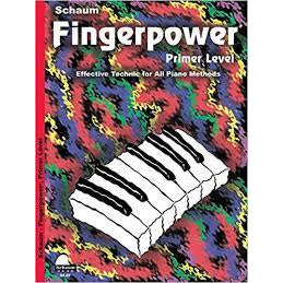 Fingerpower - Primer Level (Schaum Publications Fingerpower)