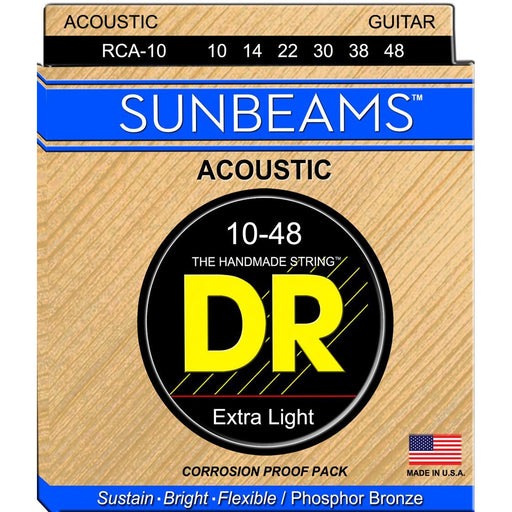 DR Acoustic Guitar Strings Sunbeam Phosphor Bronze Medium 10-48