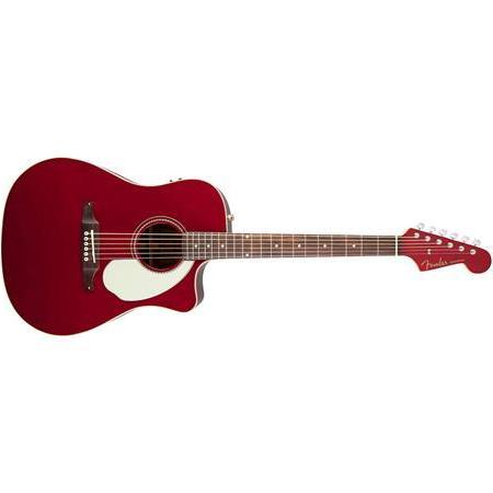 Fender California Series Sonoran Candy Apple Red