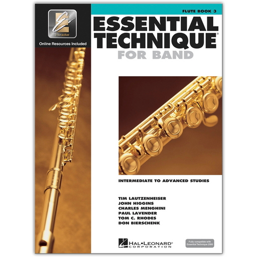 Essential Elements For Flute, Book 3